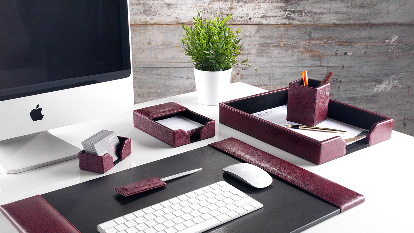 Leather Office Accessories Shop